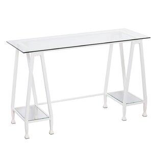 Casas Metal/Glass A-Frame Writing Desk