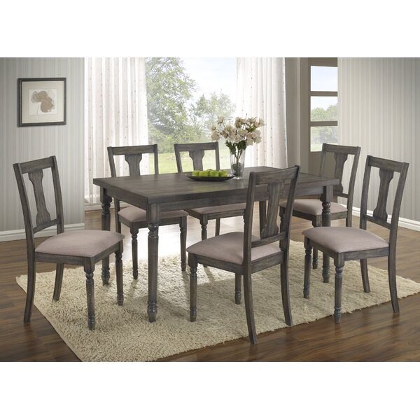 Fresh Neal 7 Piece Dining Set By Gracie Oaks Comparison