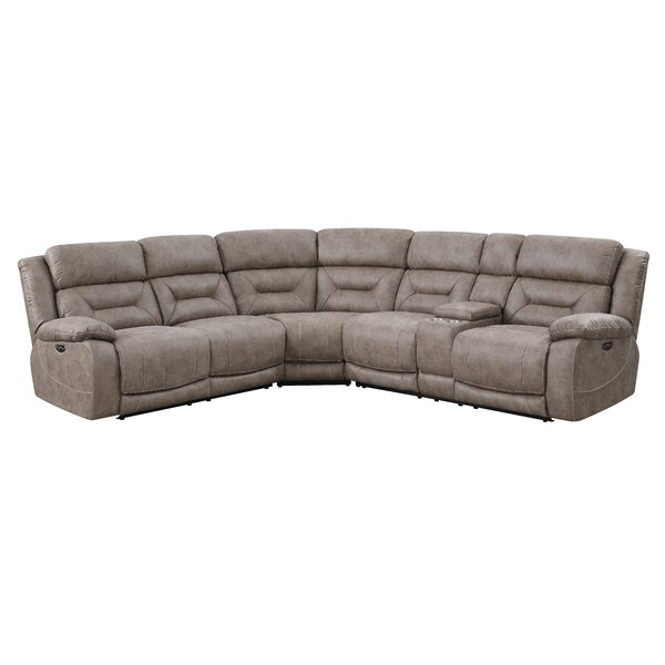 Darrow Symmetrical Reclining Sectional by Red Barrel Studio