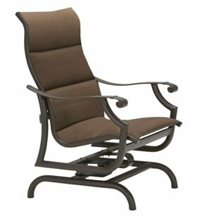Montreux Padded Sling Action Patio Chair by Tropitone