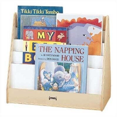 Big 4 Compartment Book Display by Jonti-Craft