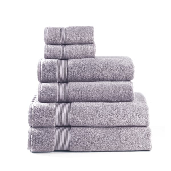 6 Piece Cotton Towel Set by CosmoLiving by Cosmopo