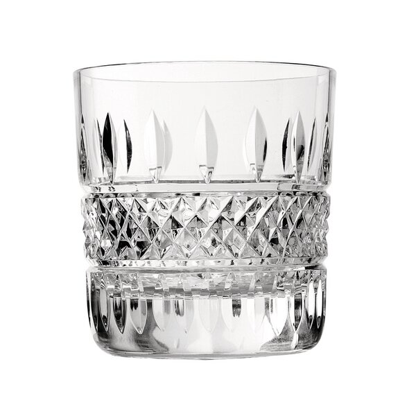 Irish Lace Double Old Fashion 12 oz. Crystal Cocktail Glass (Set of 2) by Waterford