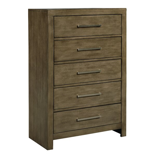 Lipscomb 5 Drawer Chest by Gracie Oaks