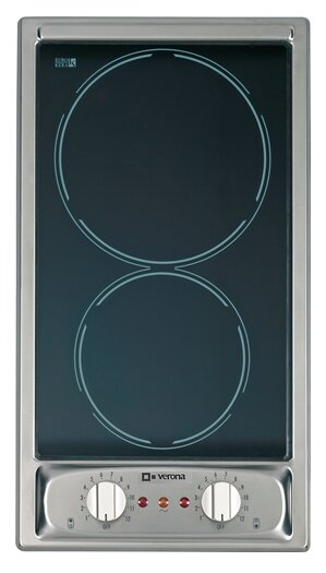 12 Electric Cooktop with 2 Burners by Verona