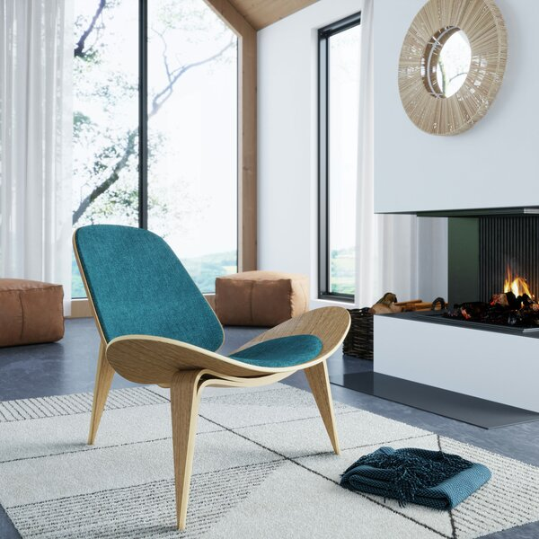 Milagros Lounge Chair by Corrigan Studio