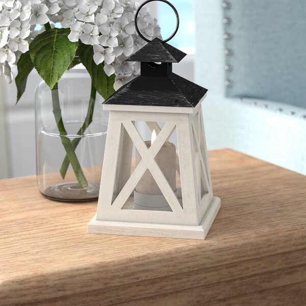 Traditional Wooden Lantern by August Grove