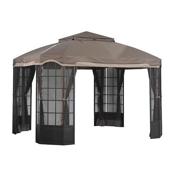 Replacement Mosquito Netting for Bay Window Gazebo by Sunjoy