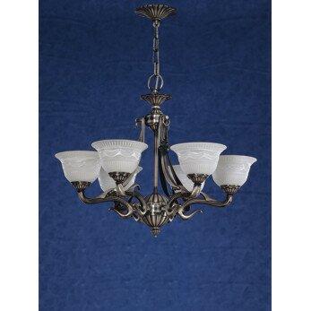 Saraso 9 - Light Shaded Empire Chandelier By Zanin Lighting Inc.