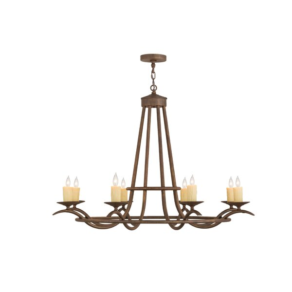 Partlow 8 - Light Candle Style Classic Chandelier By Canora Grey