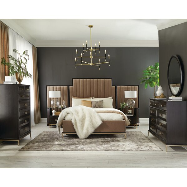 Sayre Platform Configurable Bedroom Set by Everly Quinn
