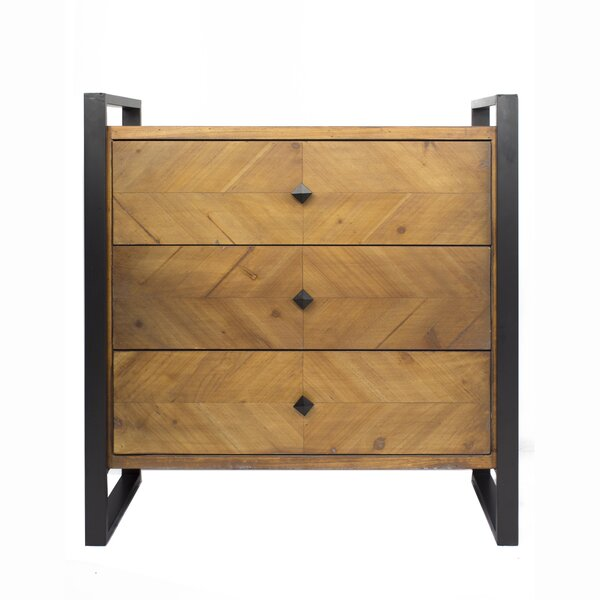 Delphine 3 Drawer Accent Chest by 17 Stories 17 Stories