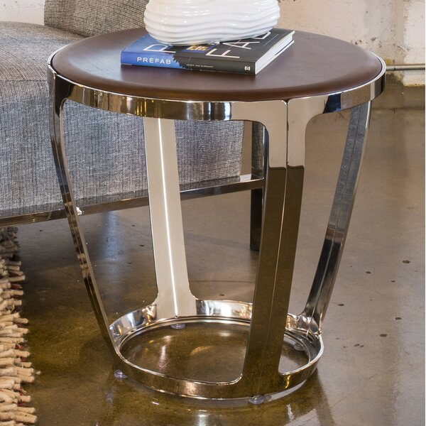 Alyssa End Table by Allan Copley Designs Allan Copley Designs