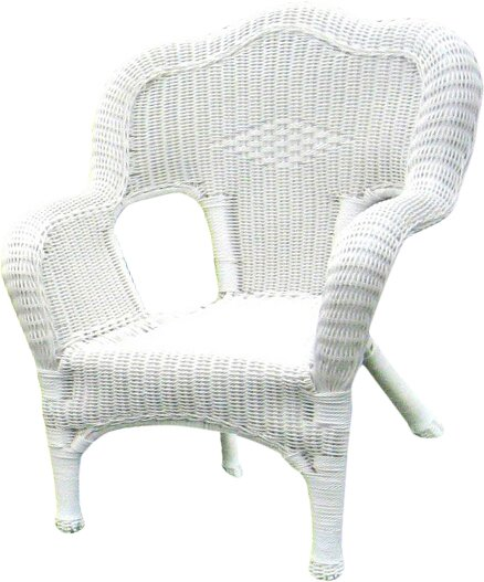 Narron Wicker Resin Steel Deep Seated Patio Chair (Set of 2) by Lark Manor