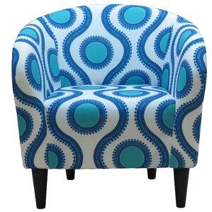 Caspar Upholstered Barrel Chair