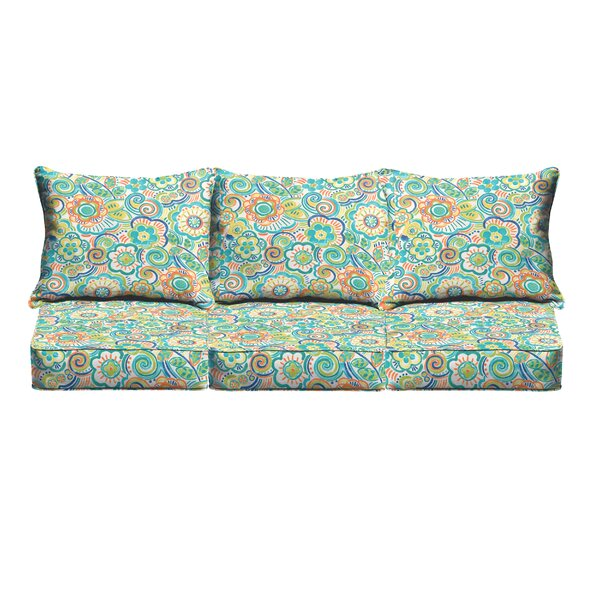 Indoor/Outdoor Sofa Cushion by Latitude Run