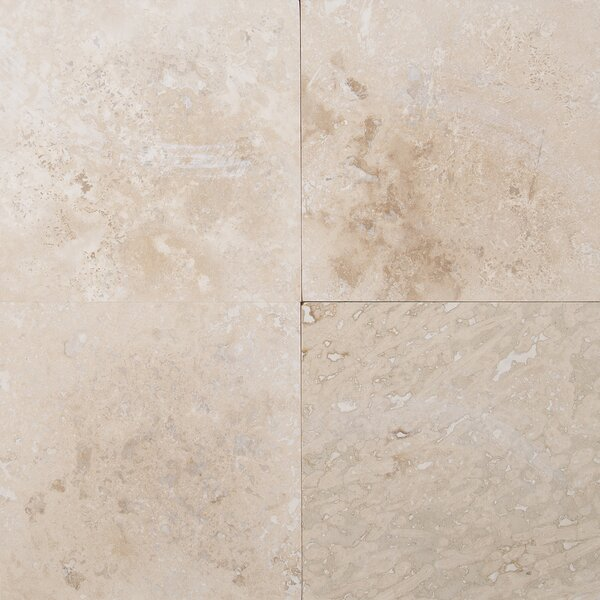 Tuscany Classic 12 x 12 Travertine Tile in Beige by MSI