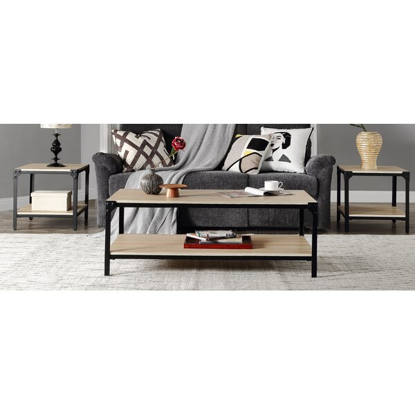 Cleland 3 Piece Coffee Table Set by 17 Stories 17 Stories
