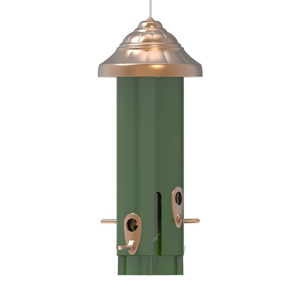 Metal Squirrel Proof Tube Bird Feeder by Nature's Way