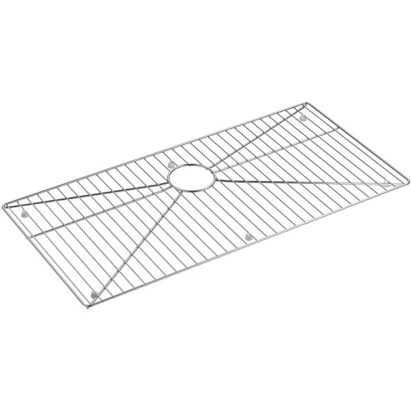 Strive Stainless Steel Sink Rack, 32-3/4 x 16 for K-5283 Strive Kitchen Sink by Kohler