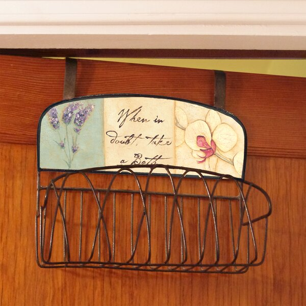 When in Doubt, Take a Bath Over the Door Organizer by Stupell Industries