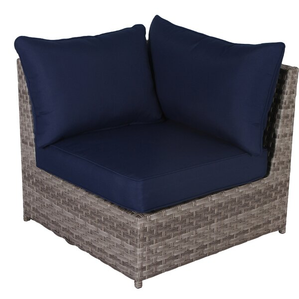 Anarkali Outdoor Patio Chair with Cushion by Latitude Run