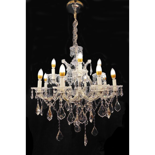 Vogt 13-Light Candle Style Tiered Chandelier by Astoria Grand Astoria Grand