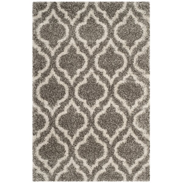 Melvin Gray/Beige Area Rug by Charlton Home
