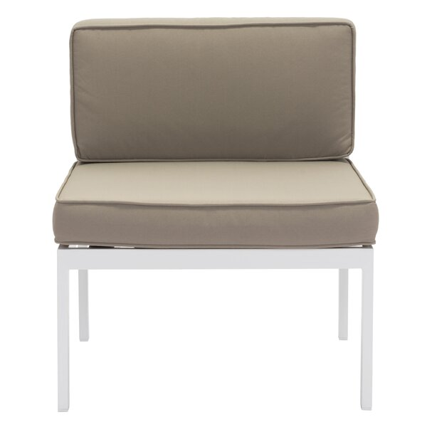Hedy Chair with Cushion (Set of 2) by Orren Ellis