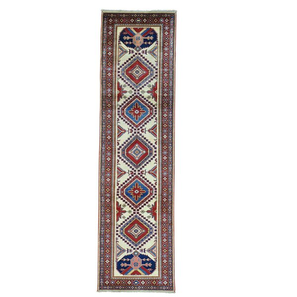 One-of-a-Kind Tillett Fine Hand-Knotted Ivory Area Rug by Millwood Pines