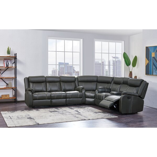 Dunson Reclining Sectional by Red Barrel Studio