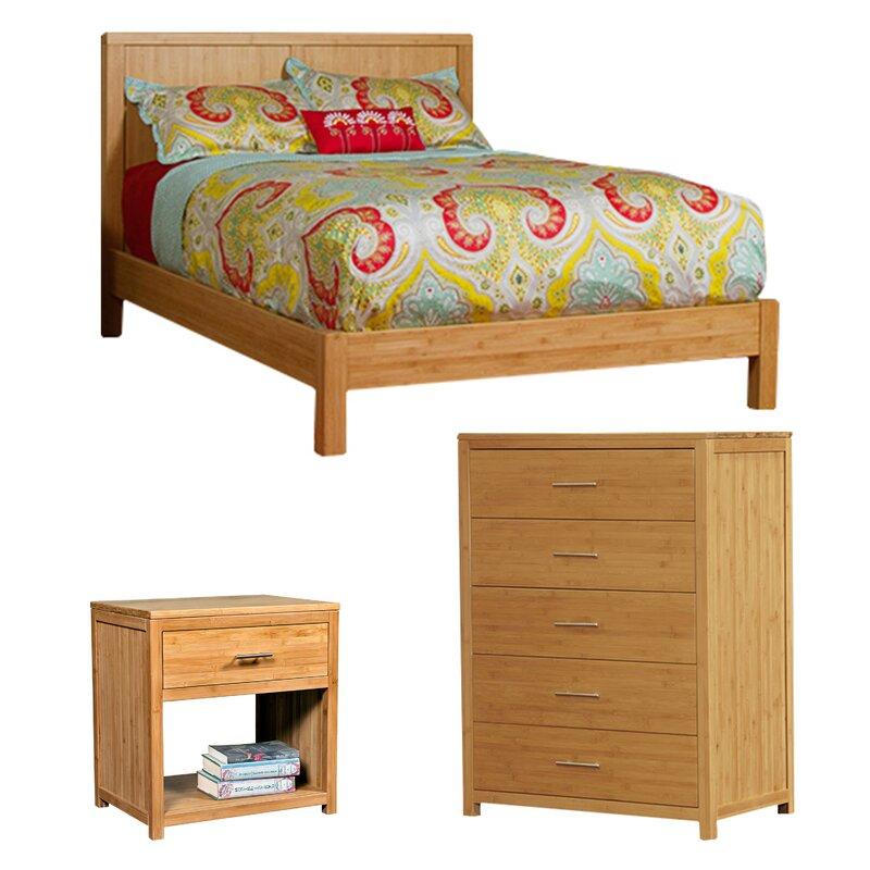 Niko Platform Configurable Bedroom Set