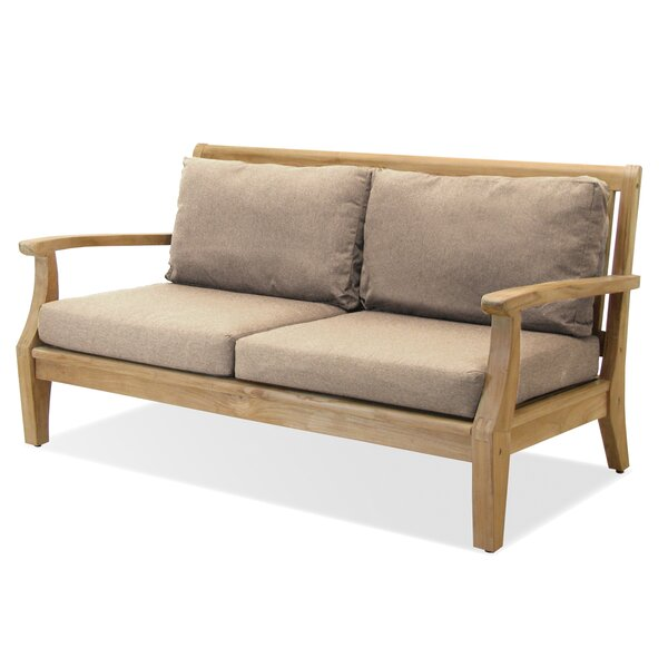 Miramar Teak Loveseat with Sunbrella Cushions by Forever Patio Forever Patio
