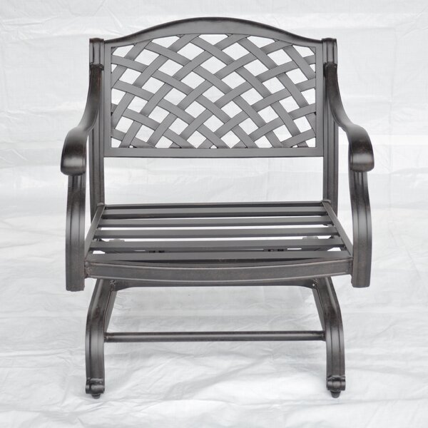 Nola Patio Chair with Cushion by Darby Home Co
