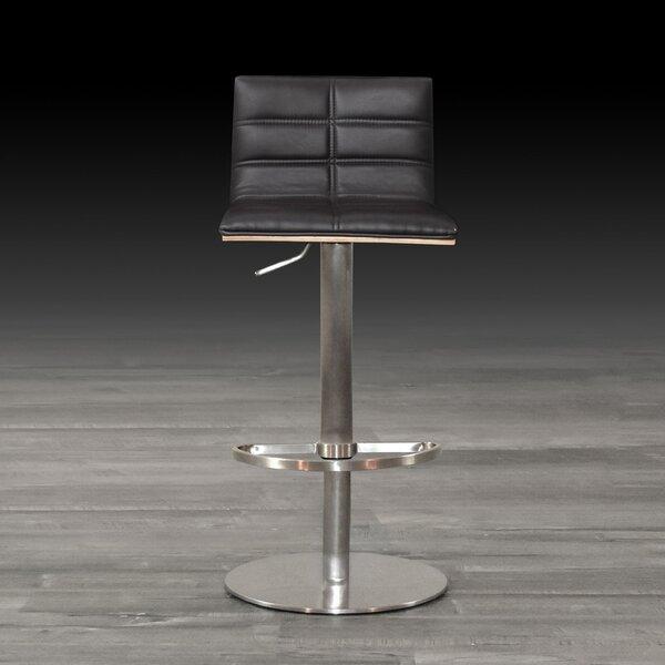 Hainault Swivel Adjustable Height Bar Stool by Orren Ellis Orren Ellis