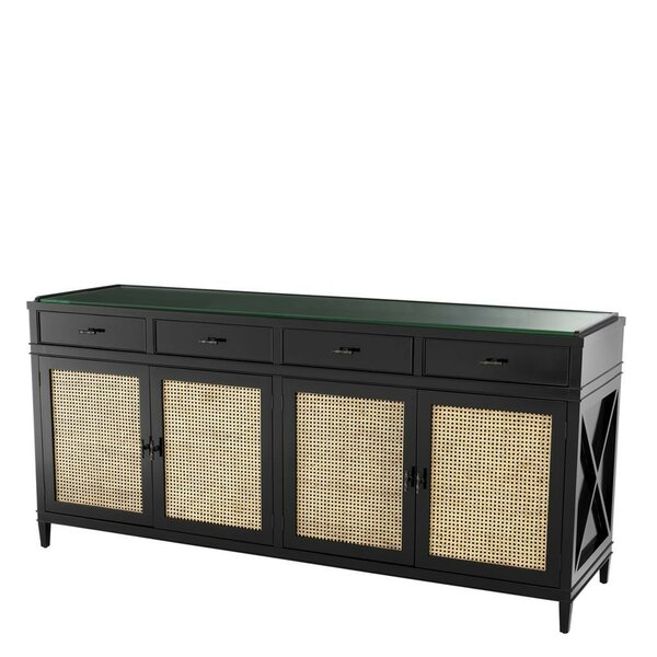 Bahamas Natural Cane Sideboard By Eichholtz