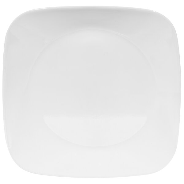 Square 9 Salad or Dessert Plate (Set of 6) by Corelle