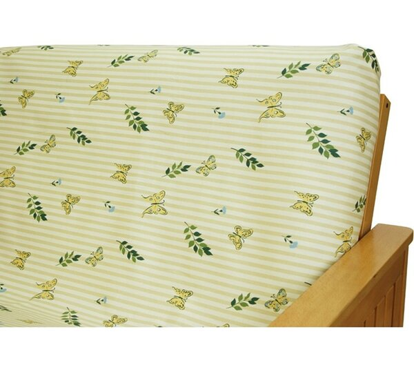 Paulette Butterfly Box Cushion Futon Slipcover by Easy Fit