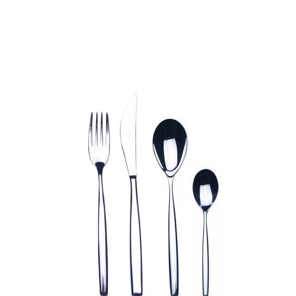 Stiria 24-Piece 18/10 Stainless Steel Flatware Set by MEPRA