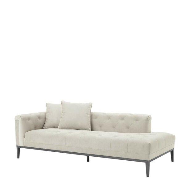 Amazing Selection Cesare Left Lounge Settee by Eichholtz by Eichholtz