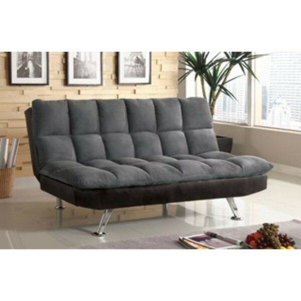 Geraci Microfiber Convertible Sofa by Latitude Run