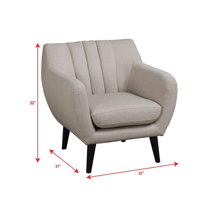 Poundex Bobkona Mauro Lounge Chair Amp Reviews Wayfair