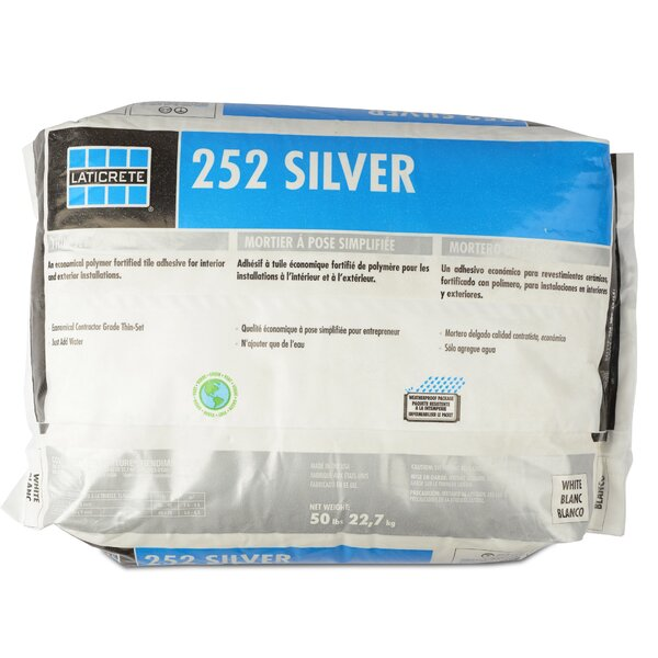 Silver Multipurpose Mortar 50 Lb by Laticrete