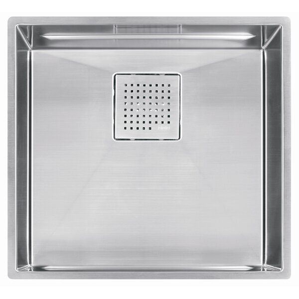 Peak 20 L x 18 W Undermount Kitchen Sink by Franke