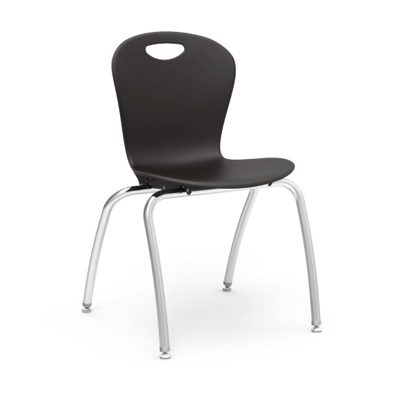 Zuma Series 18 Plastic Classroom Chair (Set of 4) by Virco