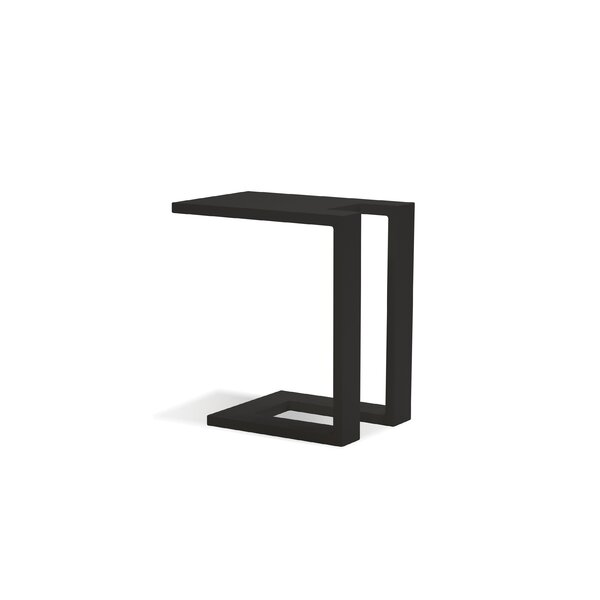 Spritz Aluminum Side Table by Ebern Designs