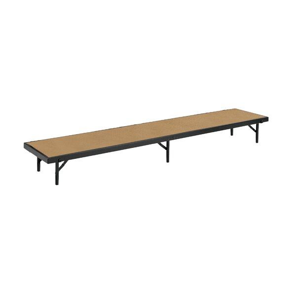 Straight Standing Choral  Single Riser in Hardboard by National Public Seating