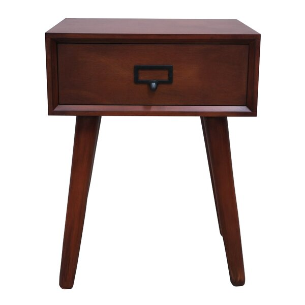 Janke End Table With Storage By George Oliver