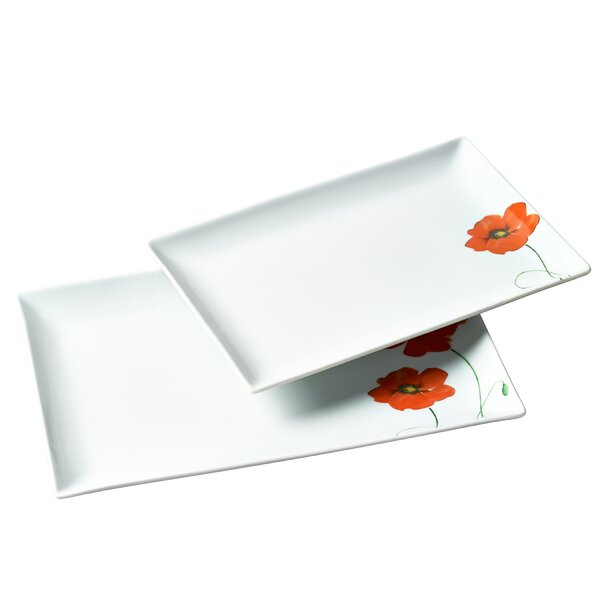 Trexlertown 2 Piece Serving Tray Set by Andover Mills