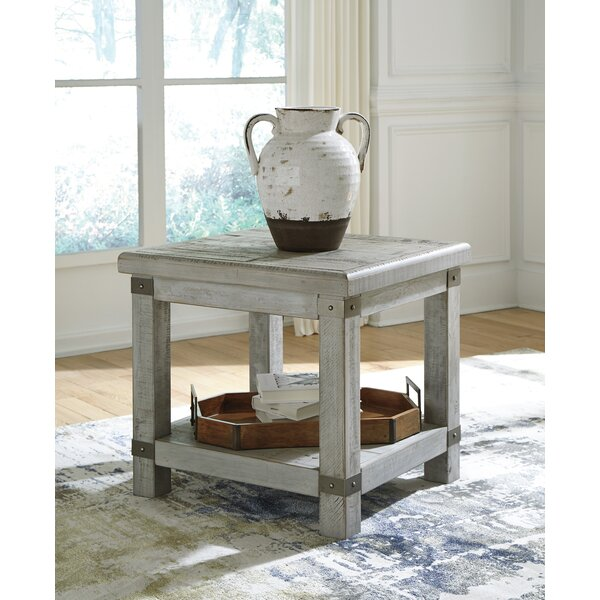 Altair End Table by Gracie Oaks